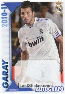 Garay (Autógrafo) (Real Madrid)