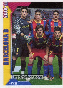 Team Sticker (1 of 2) (FC Barcelona B)