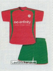 Team kit(in) (Zulte Waregem)