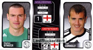 Stephen Bywater/Paul Connolly (a/b) (Derby County)
