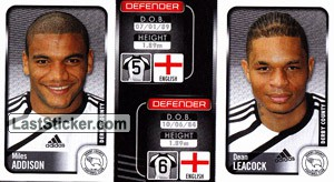 Miles Addison/Dean Leacock (a/b) (Derby County)