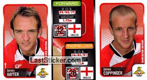 James Hayter/James Coppinger (a/b) (Doncaster Rovers)