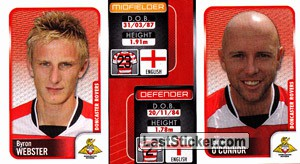 Byron Webster/James O'Connor (a/b) (Doncaster Rovers)
