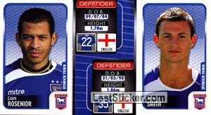 Liam Rosenior/Tommy Smith (a/b) (Ipswich Town)