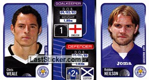 Chris Weale/Robbie Neilson (a/b) (Leicester City)