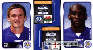 Andy King/Lloyd Dyer (a/b) (Leicester City)