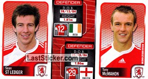 Sean St Ledger/Tony Mcmahon (a/b) (Middlesbrough)