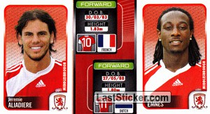 Jeremie Aliadiere/Marvin Emnes (a/b) (Middlesbrough)