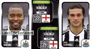 Shola Ameobi/Andy Carroll (a/b) (Newcastle United)