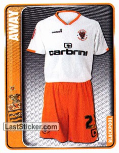 Away Kit (Blackpool)