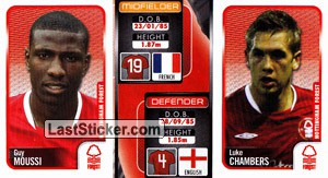 Guy Moussi/Luke Chambers (a/b) (Nottingham Forest)