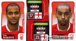 David Mcgoldrick/Dexter Blackstock (a/b) (Nottingham Forest)