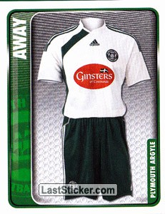 Away Kit (Plymouth Argyle)