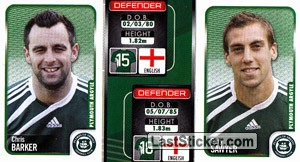 Chris Barker/Gary Sawyer (a/b) (Plymouth Argyle)