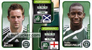 Steve Maclean/Bradley Wright-Phillips (a/b) (Plymouth Argyle)