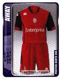 Away Kit (Preston North End)