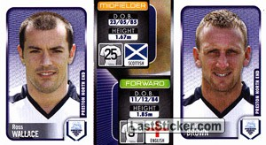 Ross Wallace/Chris Brown (a/b) (Preston North End)