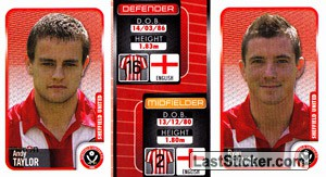 Andy Taylor/Ryan France (a/b) (Sheffield United)