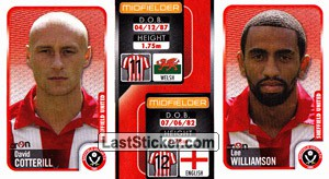 David Cotterill/Lee Williamson (a/b) (Sheffield United)