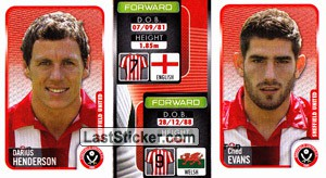 Darius Henderson/Ched Evans (a/b) (Sheffield United)