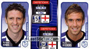 Richard Hinds/Mark Beevers (a/b) (Sheffield Wednesday)