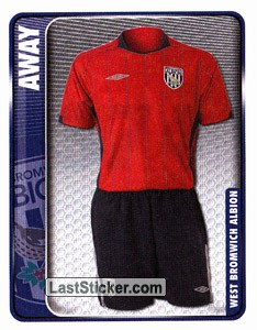 Away Kit (West Bromwich Albion)