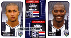 Gianni Zuiverloon/Sheltan Martis (a/b) (West Bromwich Albion)
