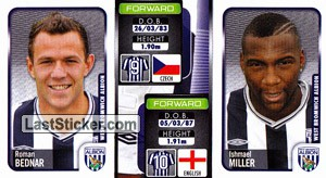 Roman Bednar/Ishmael Miller (a/b) (West Bromwich Albion)