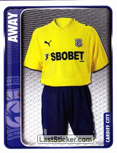 Away Kit (Cardiff City)