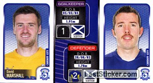 David Marshall/Kevin Mcnaughton (a/b) (Cardiff City)