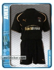 Away Kit (Coventry City)