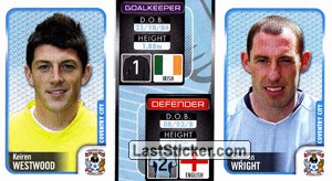 Keiren Westwood/Stephen Wright (a/b) (Coventry City)