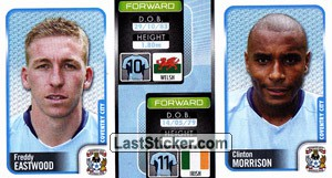 Freddy Eastwood/Clinton Morrison (a/b) (Coventry City)
