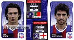 Jose Fonte/Danny Butterfield (a/b) (Crystal Palace)