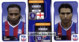 Neil Danns/Nick Carle (a/b) (Crystal Palace)