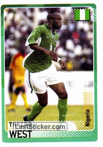 Taribo West (Nigeria)