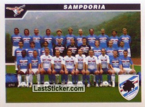 Squadra (Team Photo) (Sampdoria)