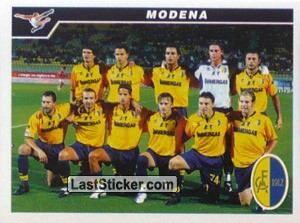 Squadra (Team Photo) (Modena (Serie B))