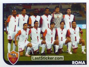 Squadra (Team Photo) (Roma)