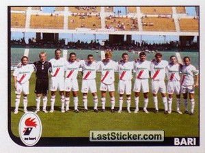 Squadra (Team Photo) (Bari (Serie B))