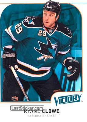 Ryane Clowe (San Jose Sharks)