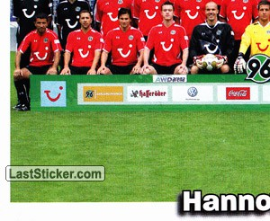 Team Sticker (puzzle) (Hannover 96)