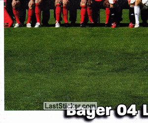 Team Sticker (puzzle) (Bayer 04 Leverkusen)