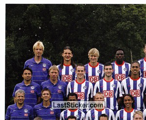 Team Sticker (puzzle) (Hertha BSC)