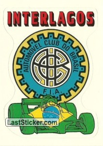 logo INTERLAGOS Brazil GP
