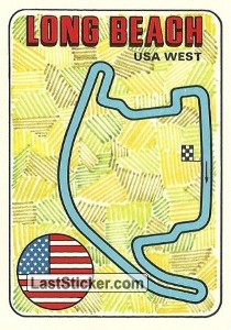 racetrack layout LONG BEACH United States GP