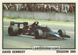 SHADOW DN9 David Kennedy