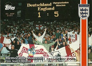 Germany v. England (Memorable Moments)