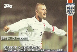 Greece 0-2 England (WC Qualifying Campaign)