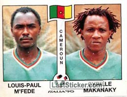 Louis Paul M'Fede / Cyrille Makanaky (Group B - Cameroun)